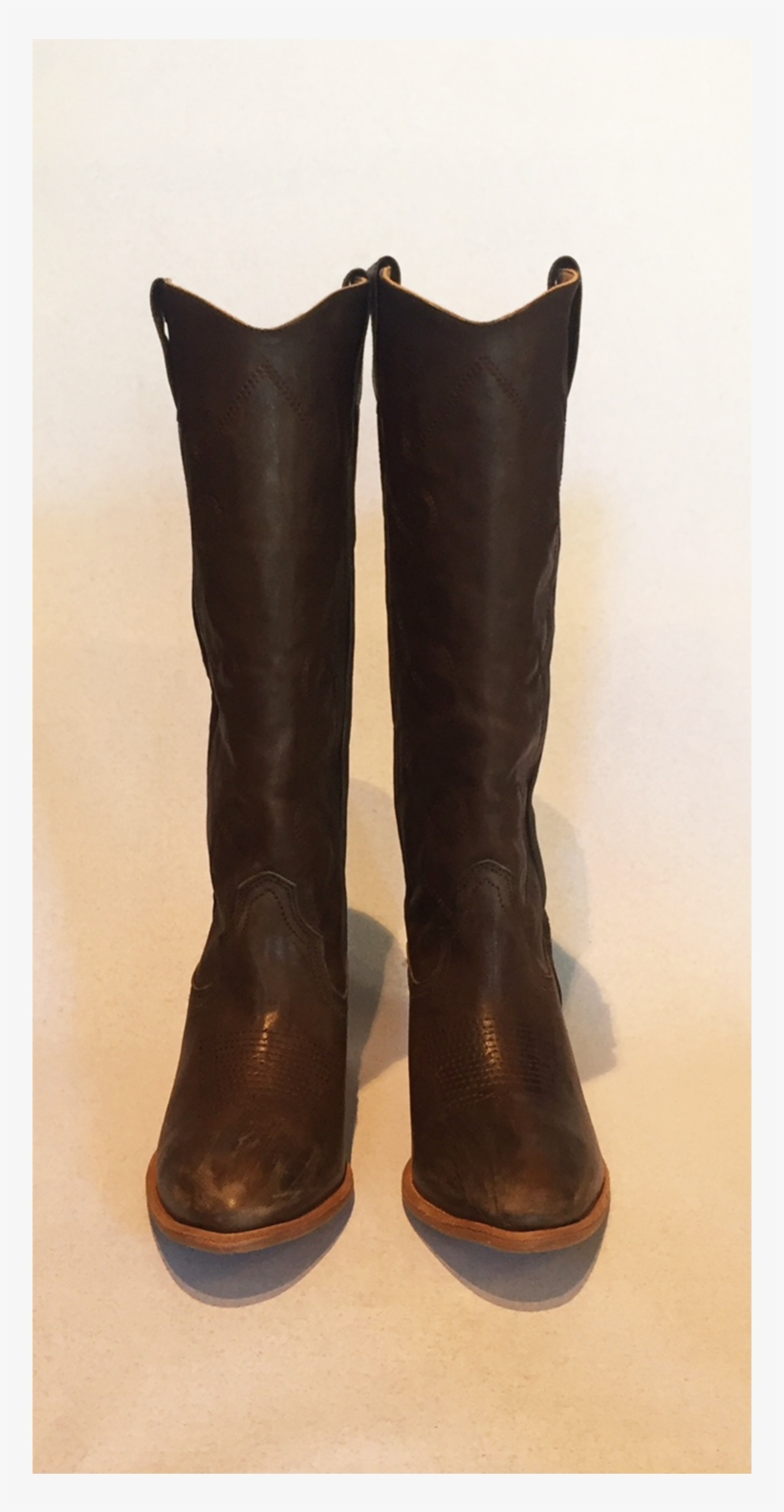 Cowboy Boots High - Riding Boot, transparent png #8742251