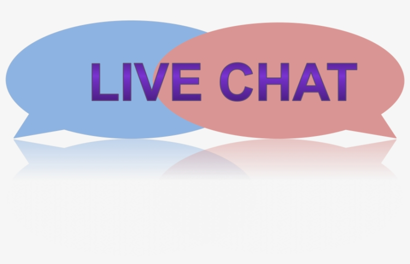 Live Chat Clipart Bubble Chat - Live Chat Pink Png, transparent png #8743501