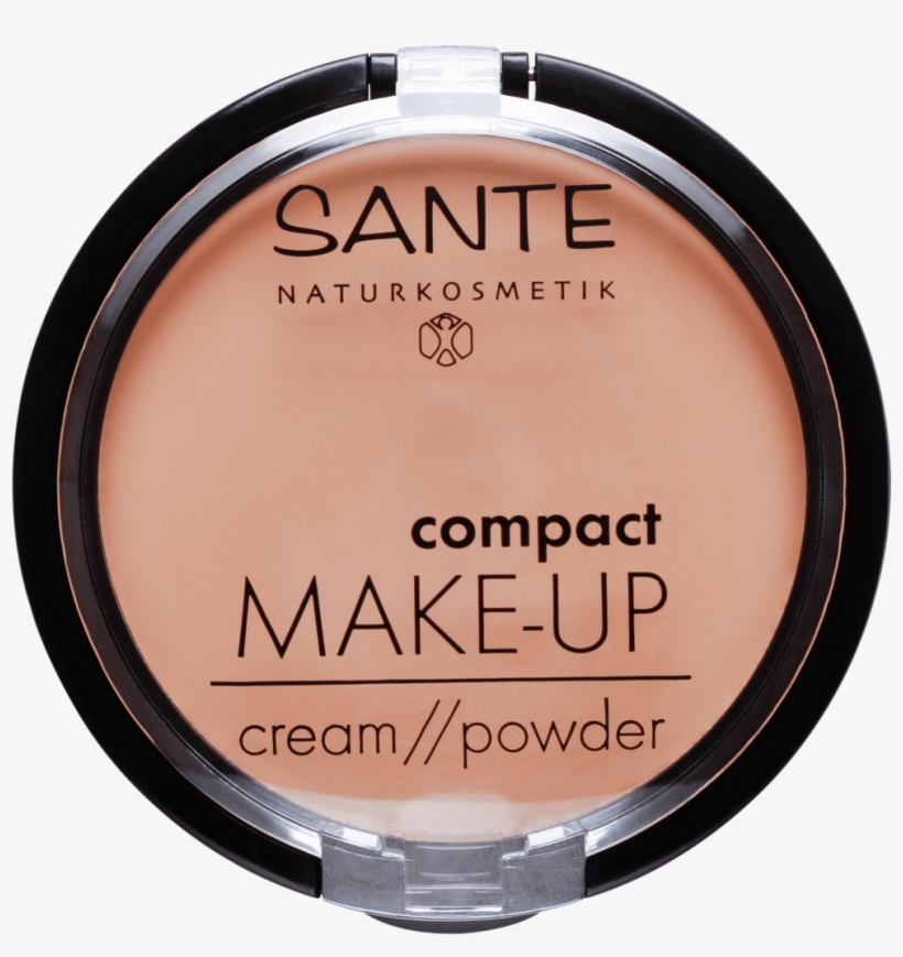 Sante Compact Make Up Cream Powder Swatches, transparent png #8745835