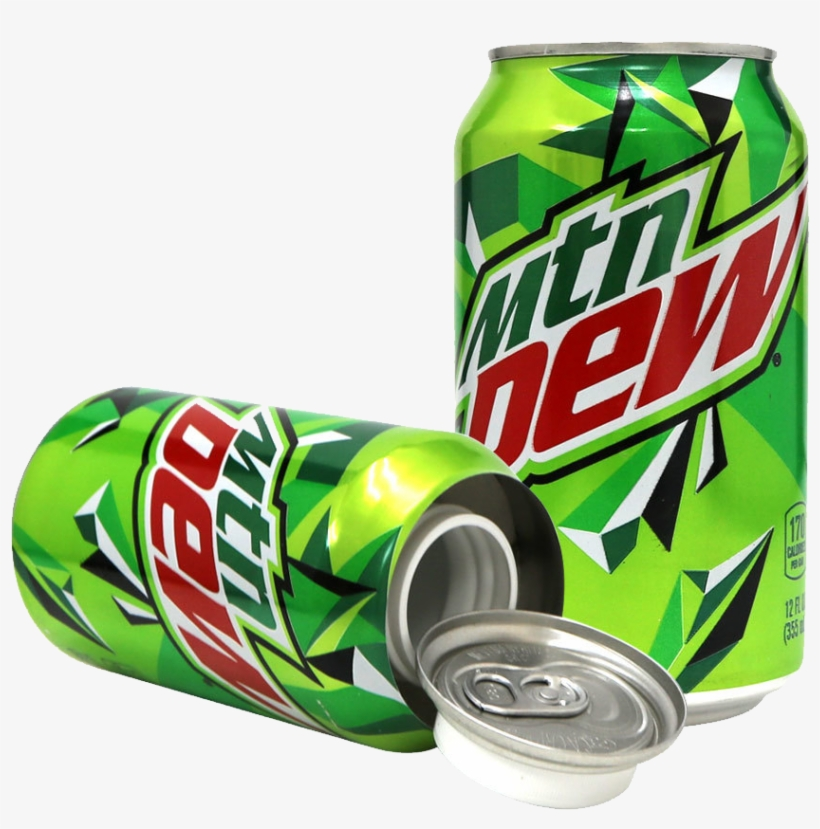 Mountain Dew Can Safe Can - Mtn Dew Can, transparent png #8749261