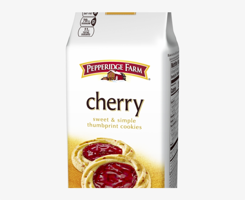 Cherry Verona Thumbprint Cookie - Pepperidge Farm Thumbprint Cookies, transparent png #8754897
