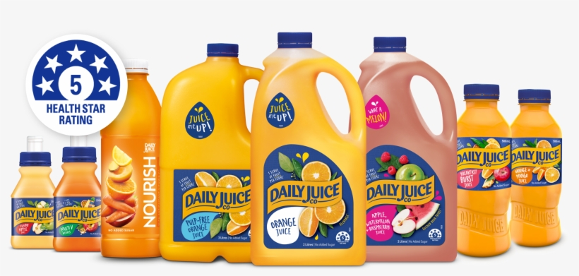 At Daily Juice Co We Want To Make It As Easy As Possible - Foods With 5 Star Health Rating, transparent png #8755176