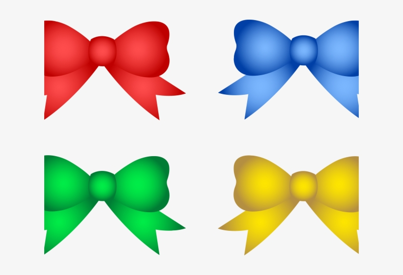 Bow Tie Clipart Holiday - Christmas Tree Decorations Clipart, transparent png #8755433