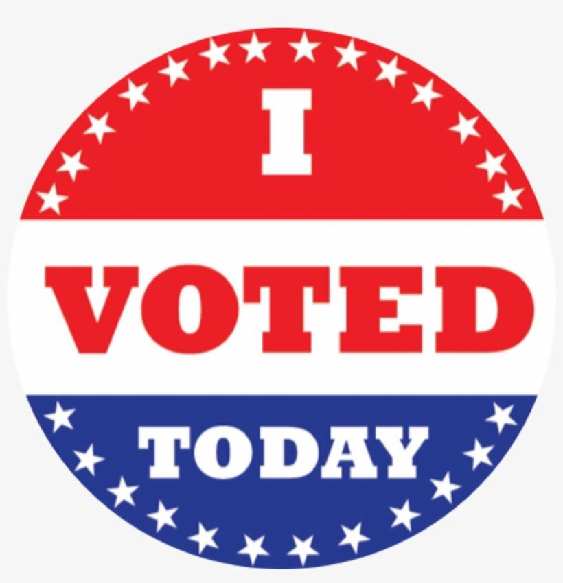 Vote Sticker - Free I Voted Sticker, transparent png #8758067