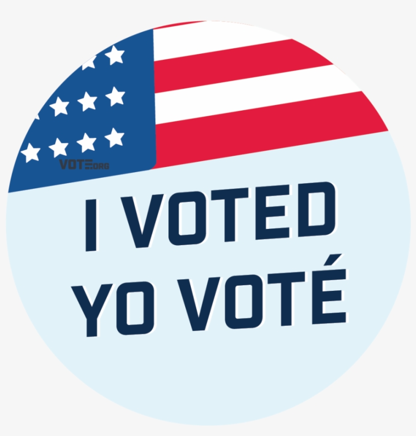 """""""i Voted"""" Stickers - Yo Vote, transparent png #8758157"""