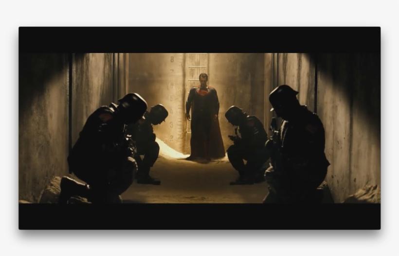 Batman, In His Armed Tech Suit, Stands On A Rain-drenched - Superman Evil Batman Vs Superman, transparent png #8763142