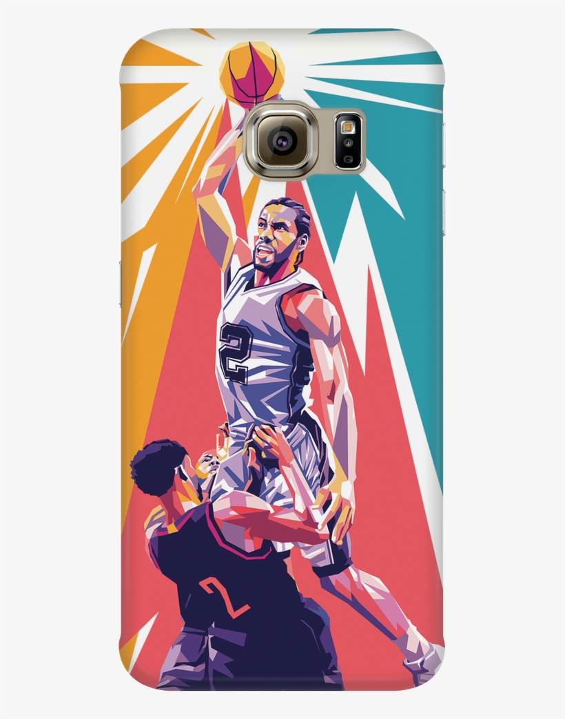 I Absolutely Love Kawhi Leonard, And I Really Love - Mobile Phone Case, transparent png #8776789