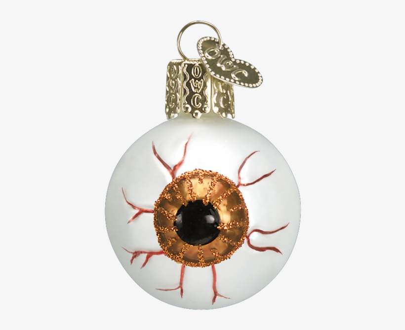Old World Christmas Blown Glass Evil Eye Ornament - Eyeball Christmas Ornaments, transparent png #8782181