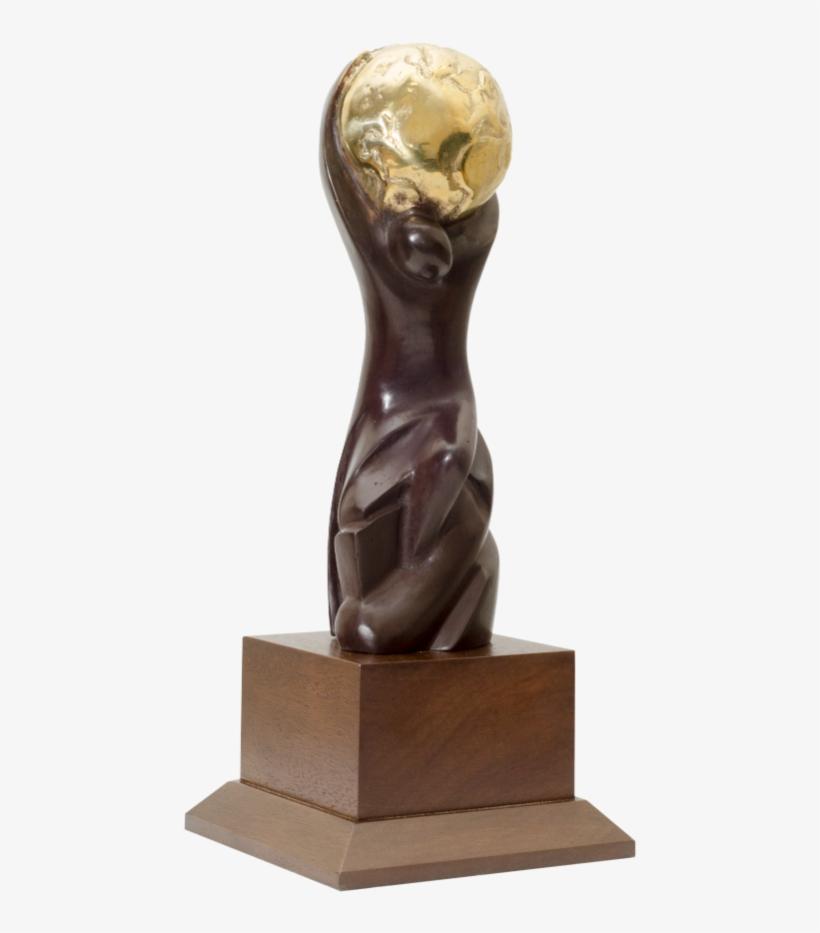 World Ski Awards Winner Trophy - World Spa Awards Trophy, transparent png #8784547