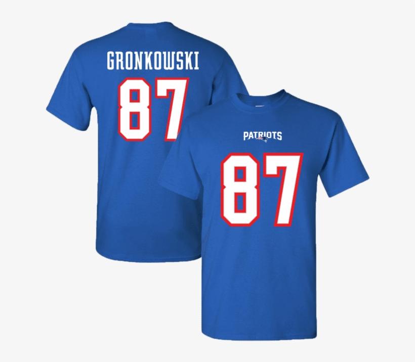 Men's New England Patriots Rob Gronkowski - New England Patriots, transparent png #8784980