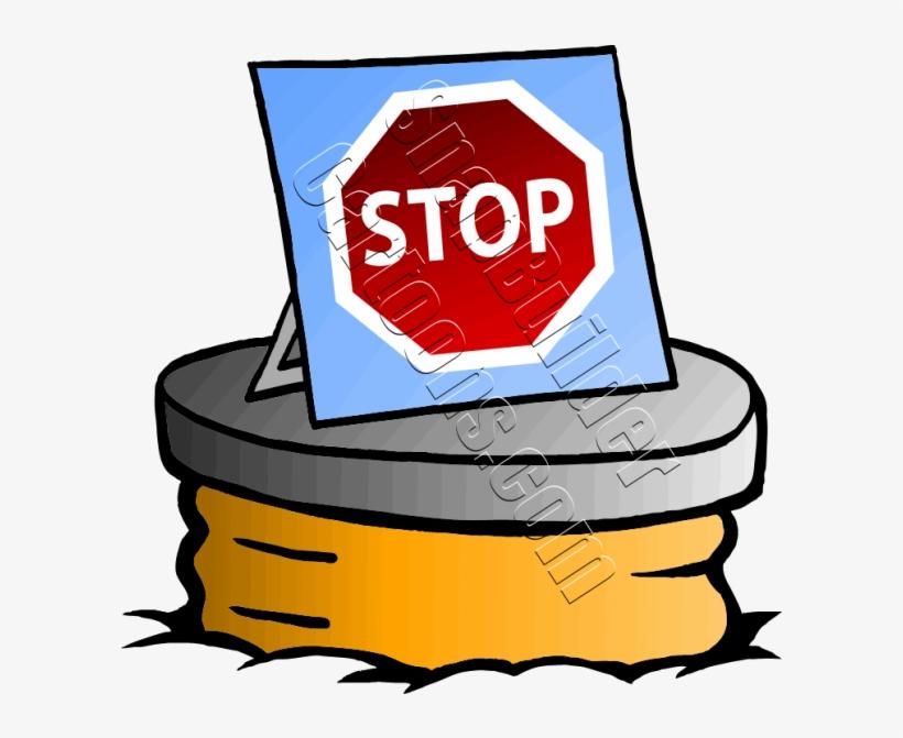 Rat Stop Sign - Rato De Esgoto Desenho, transparent png #8789947