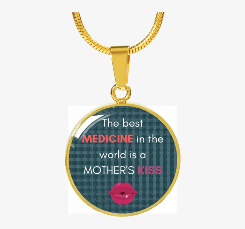Mother's Kiss Luxury Necklace - One Stop Shop, transparent png #8797537