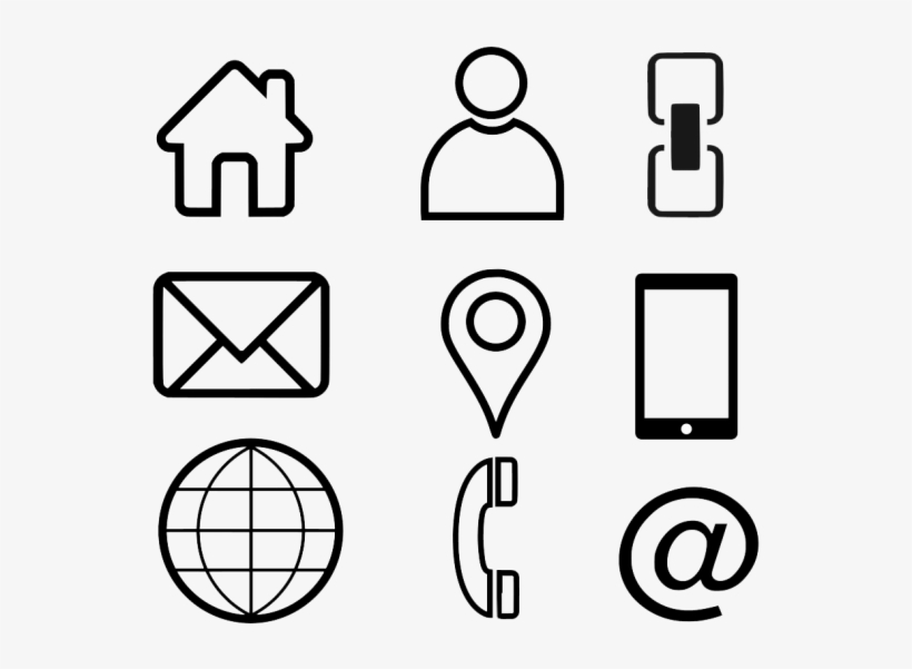Business Card Clipart - Business Card Icons Png Free Download, transparent png #8798395