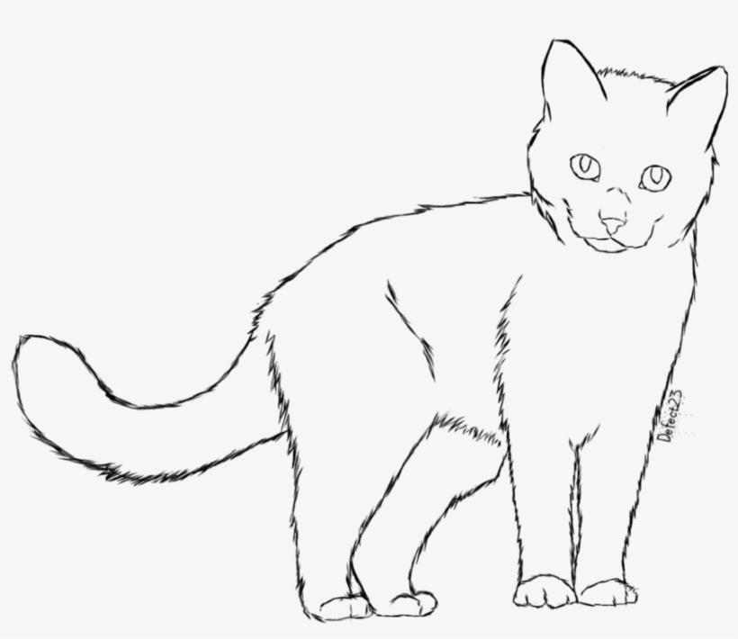 Drawn Black Cat Tumblr Transparent Cat Free Transparent Png