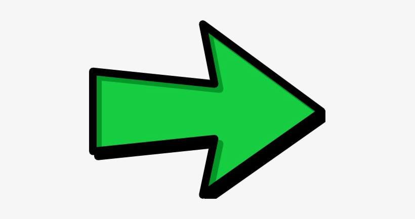 Right Arrow Png Download Image - Green Arrow Right Png, transparent png #880565