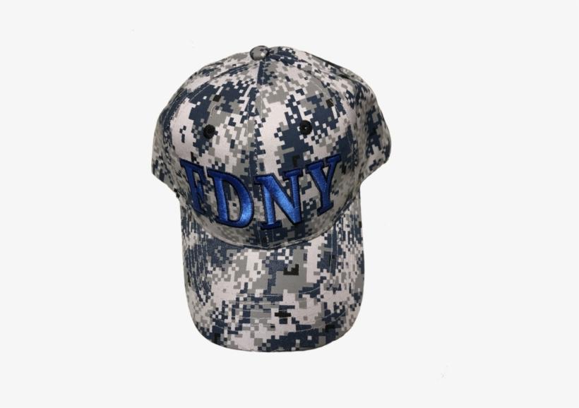 94a43d443b2 Fdny Camo Hat Blue - Fdny Camo Hat - Free Transparent PNG Download ...