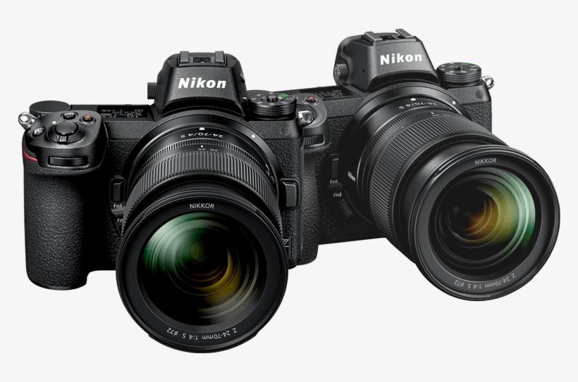 Nikon Z-series Cameras - Nikon Z6 Vs Canon Eos R, transparent png #881883