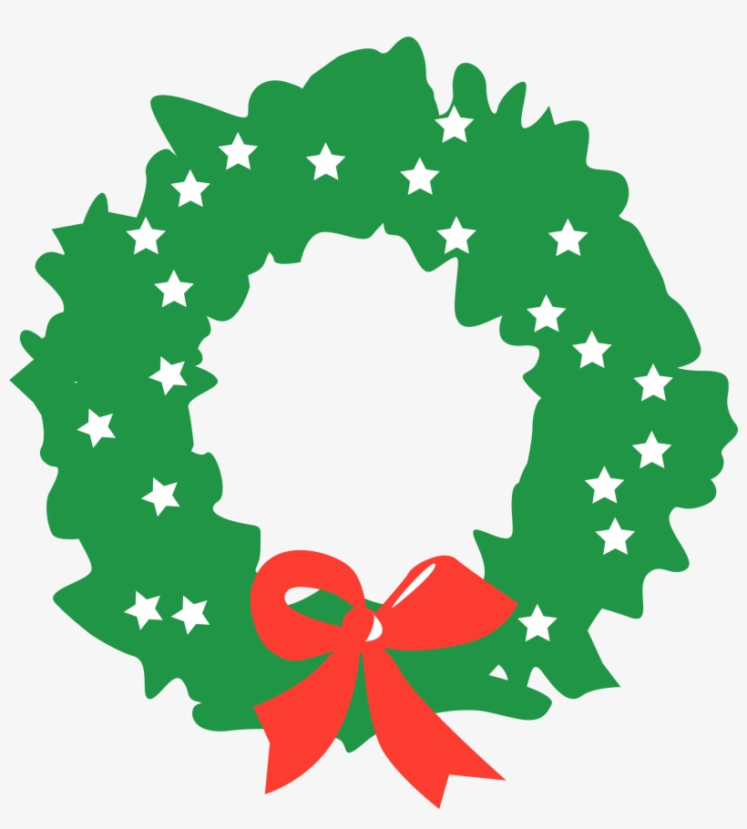 Christmas - Christmas Wreath Png White, transparent png #883556