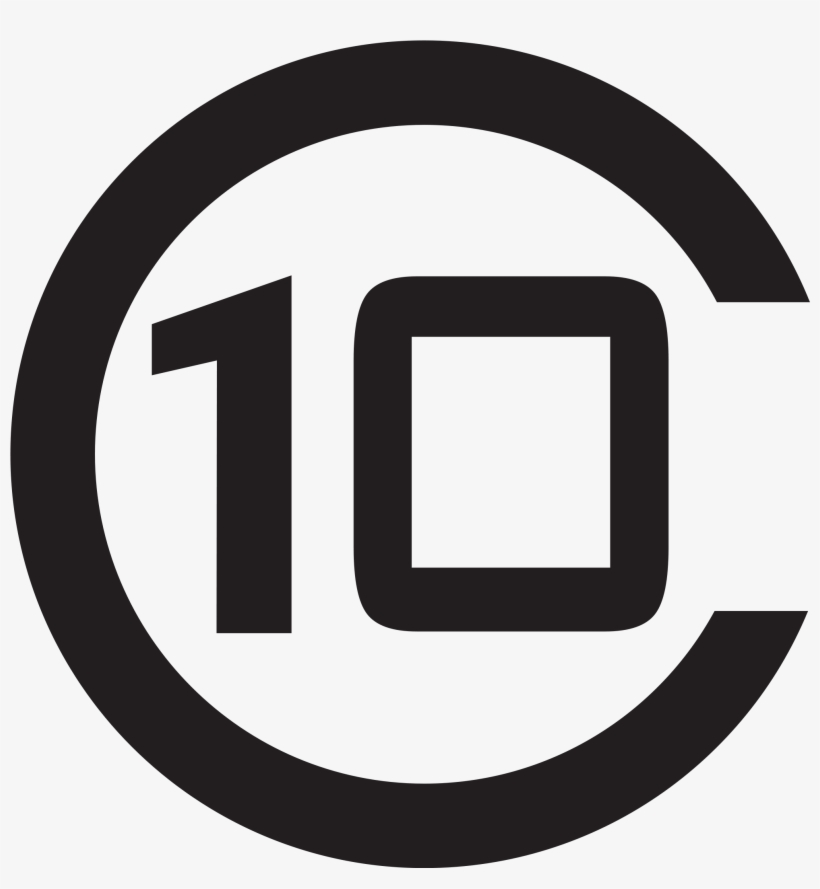 Open - Number 10 In Circle, transparent png #884143