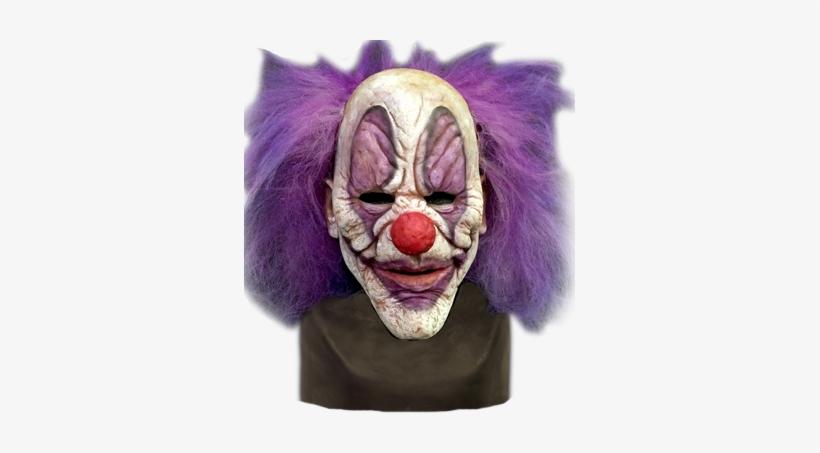 Clown Mask Purple Hair, transparent png #884875