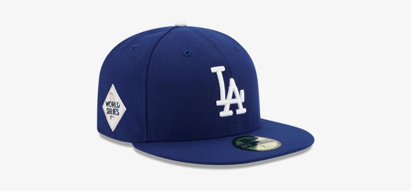 Los Angeles Dodgers World Series 59fifty Patch Fitted - New Era Dodgers World Series, transparent png #884906