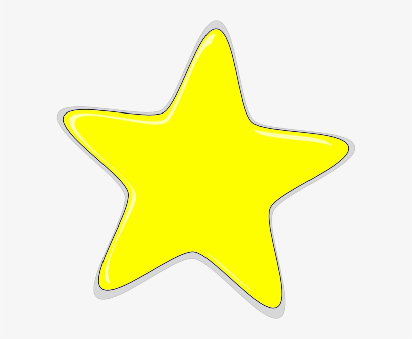 Yellow Star Transparent Background