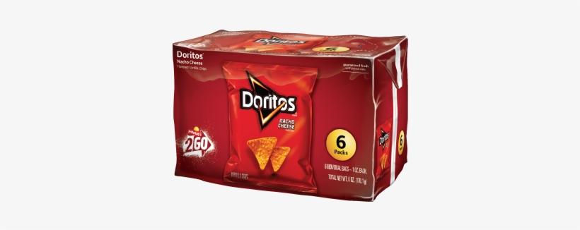 Doritos® Nacho Cheese Flavored Tortilla Chips - Doritos Cool Ranch Tortilla Chips 6-1 Oz. Bag, transparent png #886570