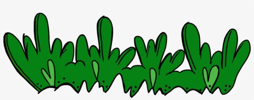 Grass cartoon. Clip art border clipart