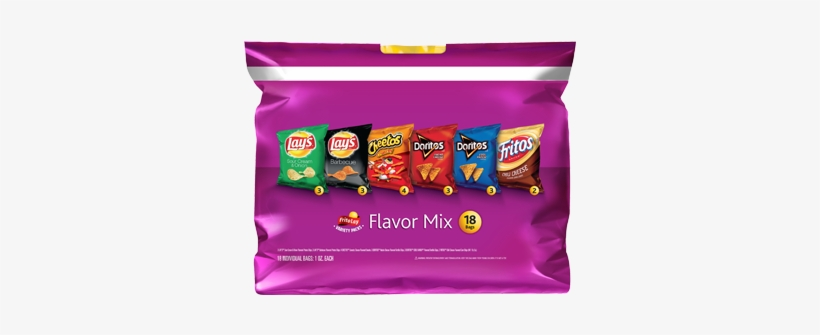 Frito Lay Flavor Mix Variety Pack 20-1 Oz. Bags, transparent png #887073