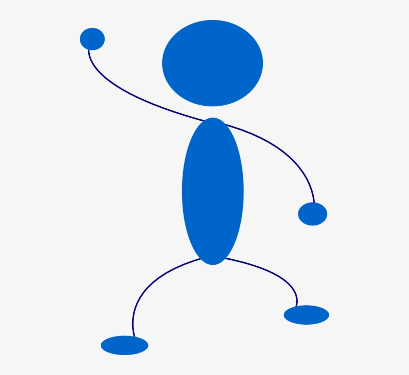 Stickman,stick - Waving Stick Figure Png, transparent png #887134