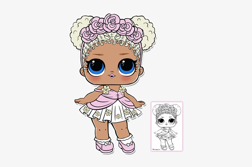 28 Collection Of Lol Doll Coloring Pages Boy Flower Girl Lol