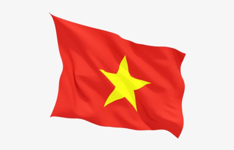 Vietnam Flag Wave Vietnam Flag Free Transparent Png Download Pngkey