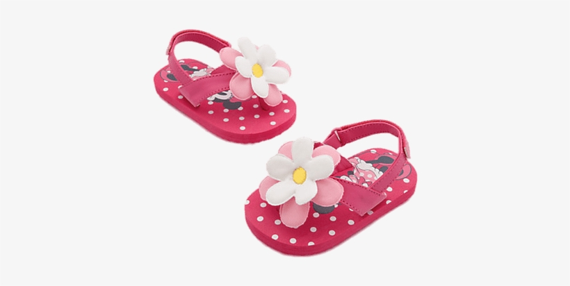 Sandals Baby Girl - Minnie Mouse Baby Sandals, transparent png #889040