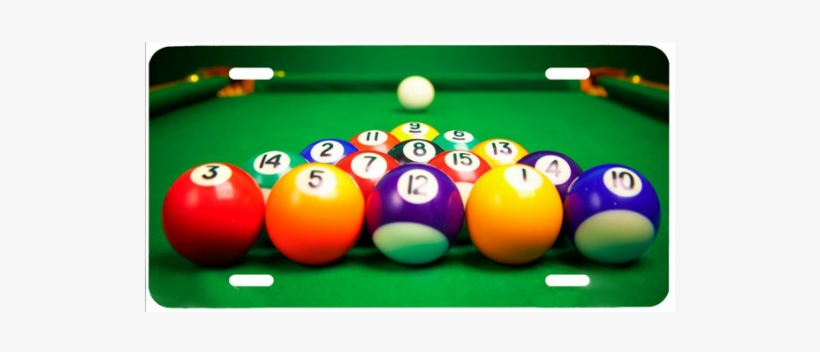 Pool Table And Balls - Cue Sports, transparent png #889287