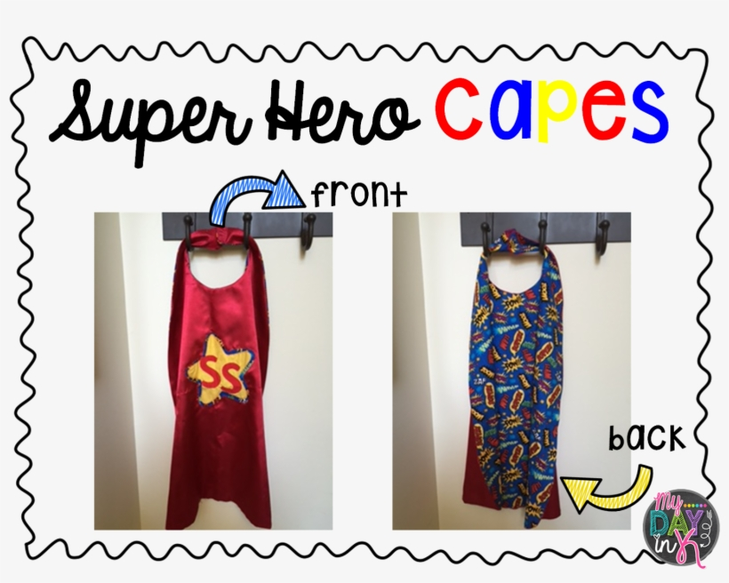 For Anyone Out There Who Has A Superhero Themed Classroom - Day Dress, transparent png #889610