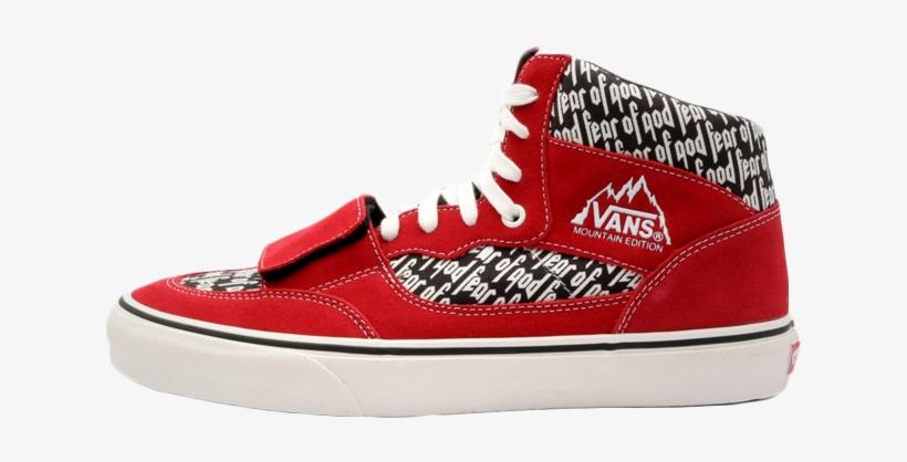 The Fear Of God X Vans Vault Mountain Edition 35 Dx - Vans Mountain Edition Fear Of God 2017 Mens Sneakers, transparent png #889948