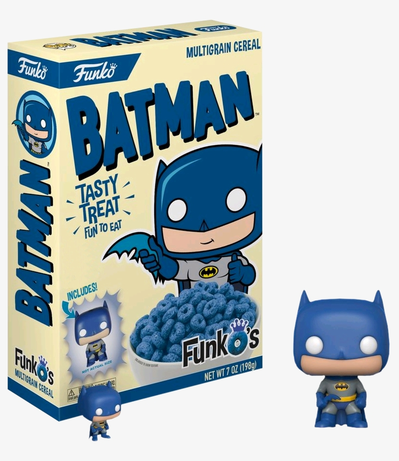 Batman Funkos Cereal With Pocket Us Exclusive Pop Vinyl - Funko Cereal, transparent png #8801760