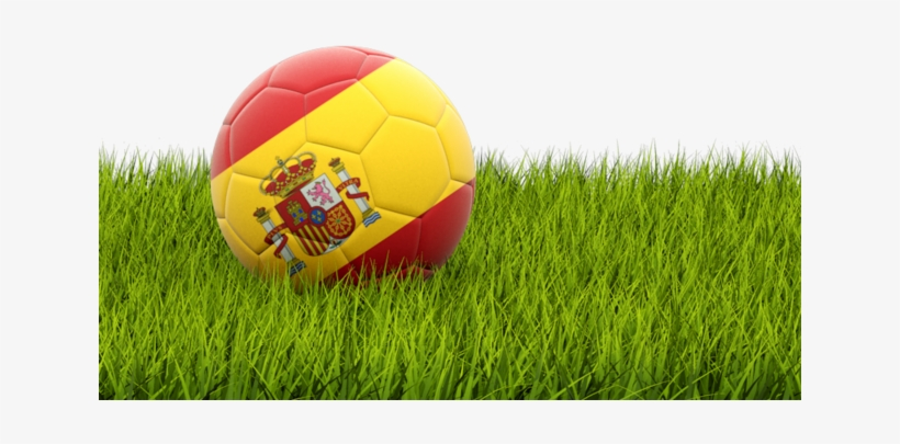 Illustration Of Flag Of Spain - Football In United Kingdom, transparent png #8805295