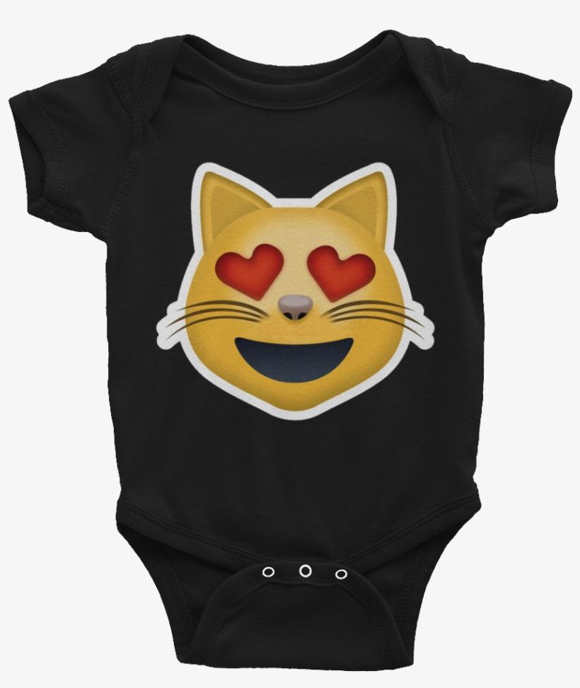 Emoji Baby Short Sleeve One Piece - Programming Baby Bodysuit, transparent png #8808367