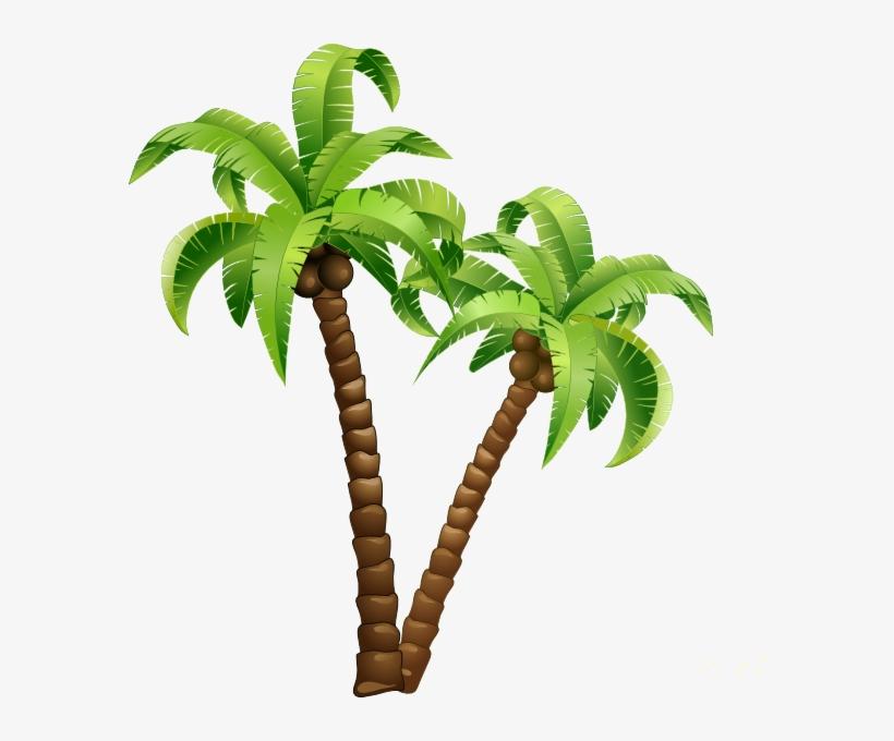 Palmeras Cartoon Coconut Tree Png Free Transparent Png Download