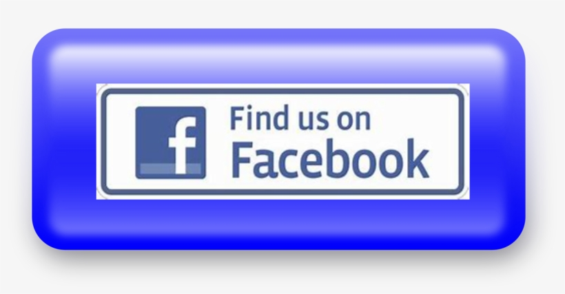 Facebook - Find Us On Facebook, transparent png #8823938