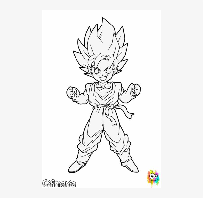 Super Saiyan Db Art Pinterest Dragon Ball - Imagenes De Goten Para Dibujar, transparent png #8824483