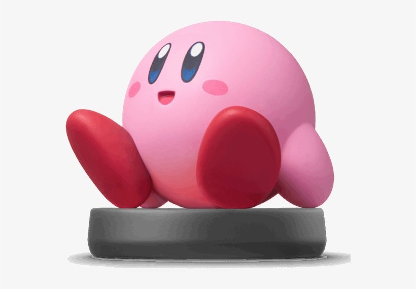 Nintendo Amiibo - Super Smash Bros Ultimate Amiibo Kirby, transparent png #8886564