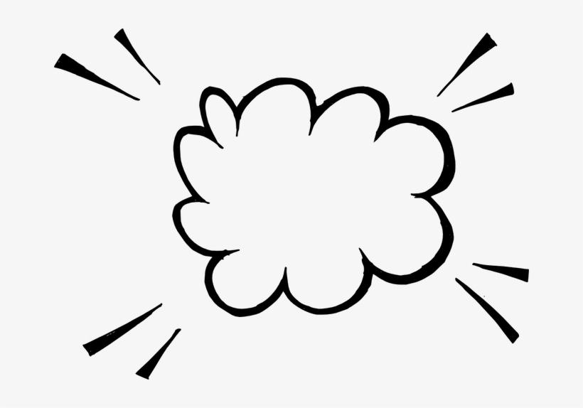 Hand Drawn Comic Speech Bubbles 3 - Hand Drawn Speech Bubble Transparent, transparent png #8888702