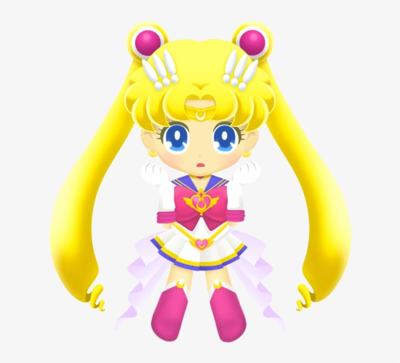 Sailor Moon Clipart Compact Transparent - Super Sailor Moon Sailor Moon Drops, transparent png #8894625