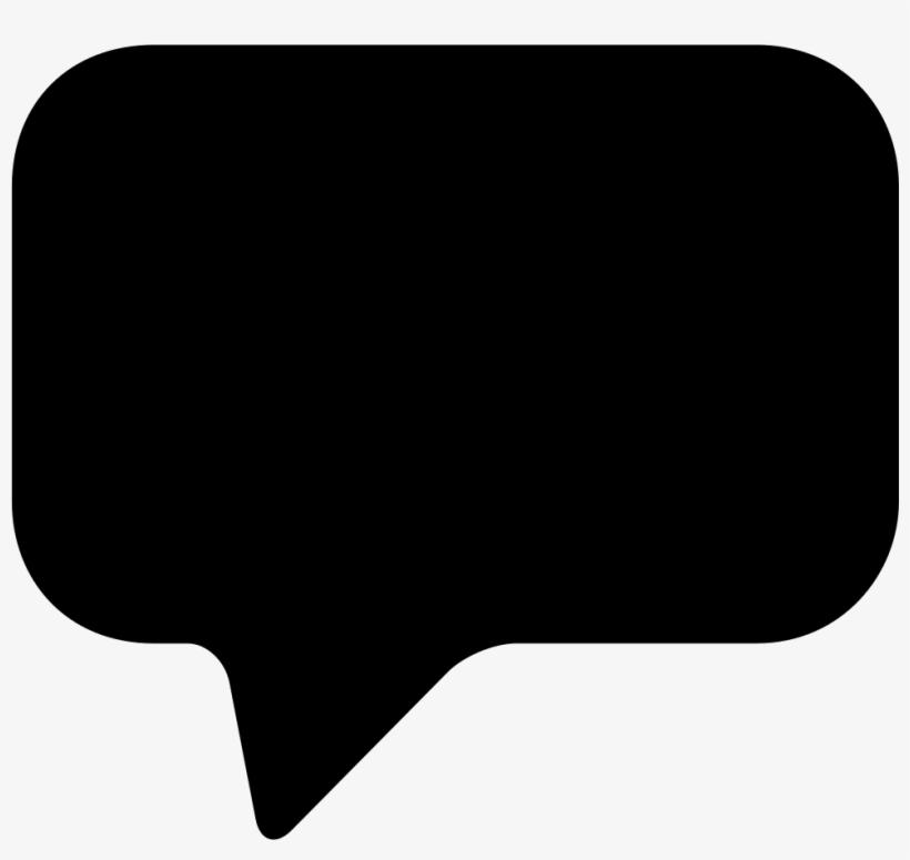 Rounded Conversation Bubble Comments - Speech Bubble Png, transparent png #8899308