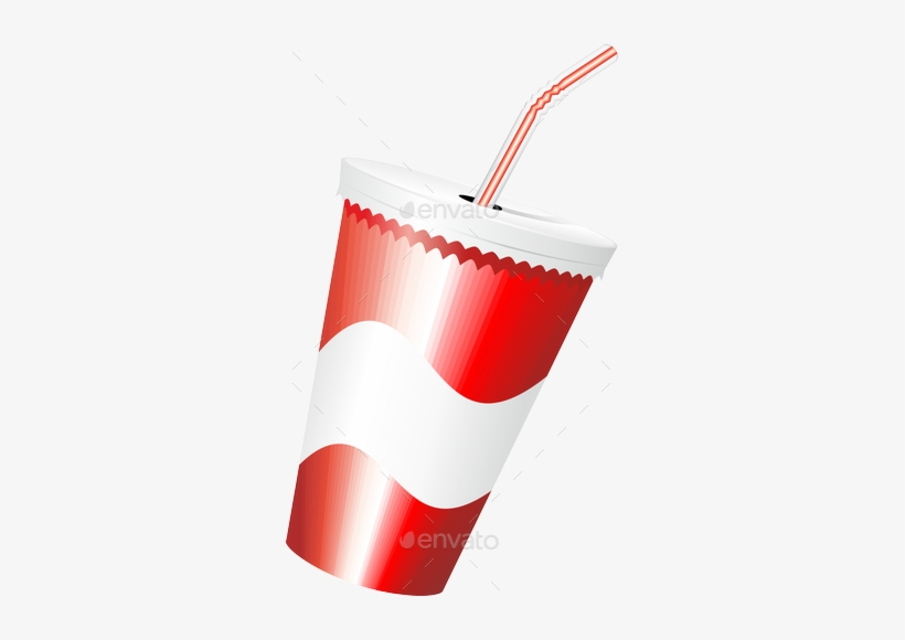 Fast Food Hamburger Fries And Drink Menu Preview Fries - Fast Food Cup Png, transparent png #891585