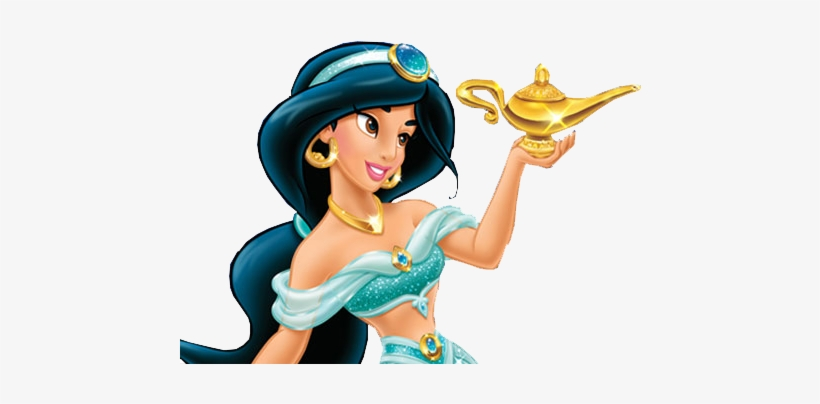 Jasmine Png File - Disney Princess Enchanted Character Guide By Dk, transparent png #892004