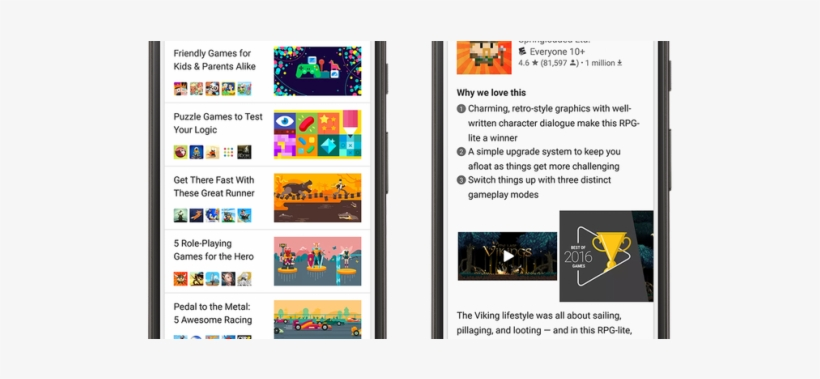 Google Play Store Testing Video And Slideshow Previews - Google Play, transparent png #894378