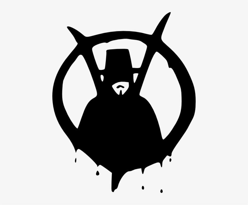 Picture Freeuse Stock Clip Art At Clker Com Vector - V For Vendetta Png, transparent png #894580
